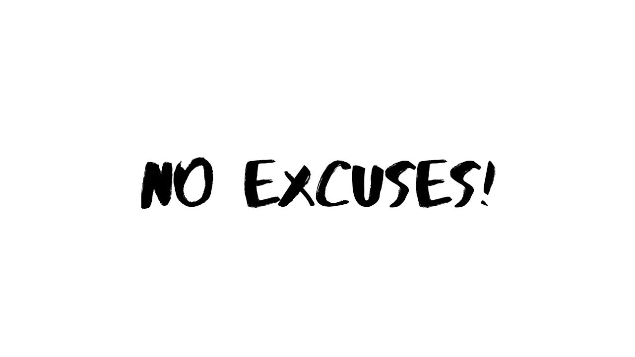 Monday motivation- no excuses! #mondaymotivation