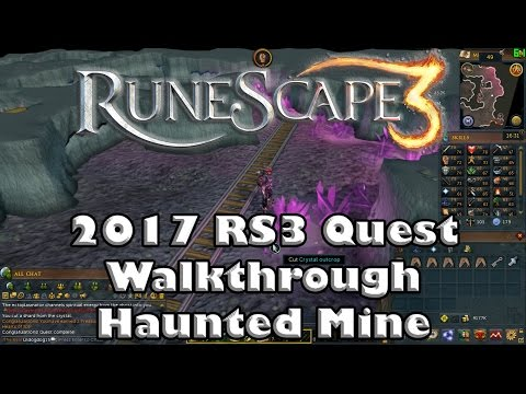 RS3 Quest Guide - Haunted Mine - 2017(Up To Date!)