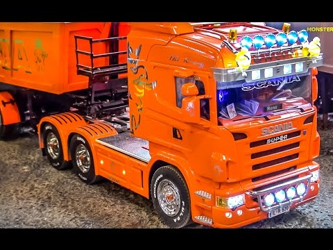 Thumbnail: RC Truck SPECIAL! Fantastic R/C Scania trucks in Action!