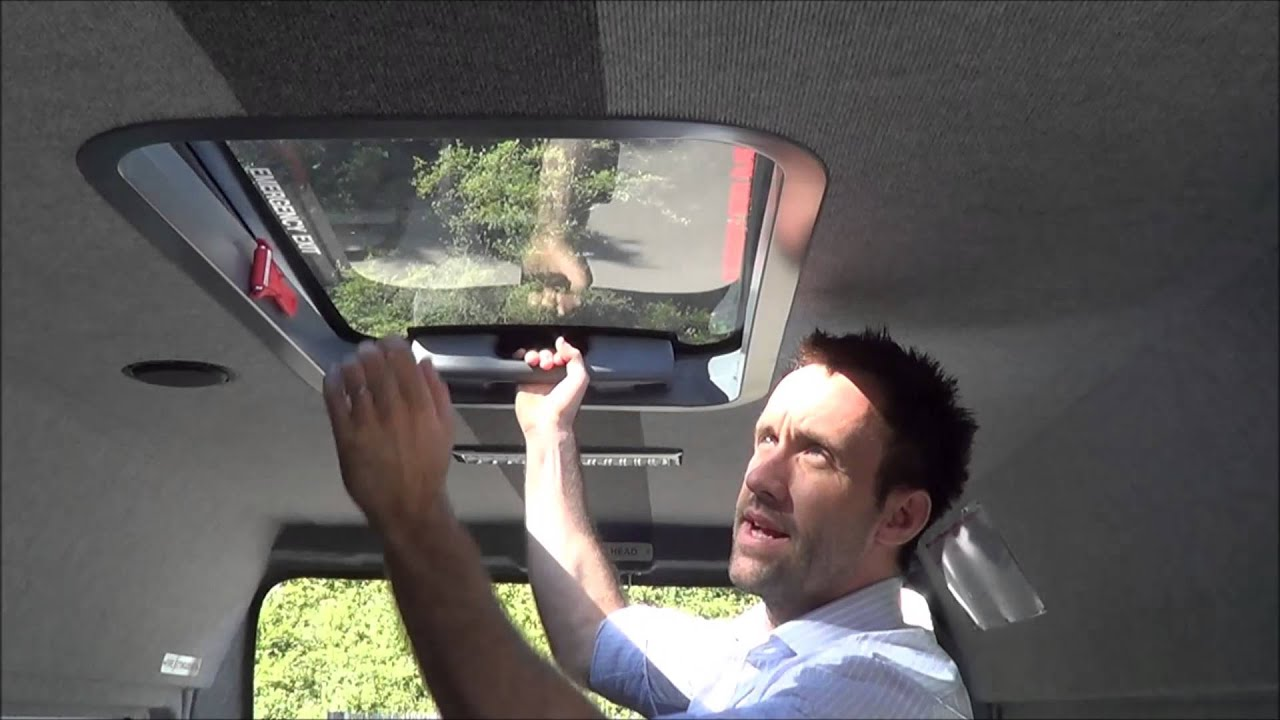 Glass Roof Hatch Youtube