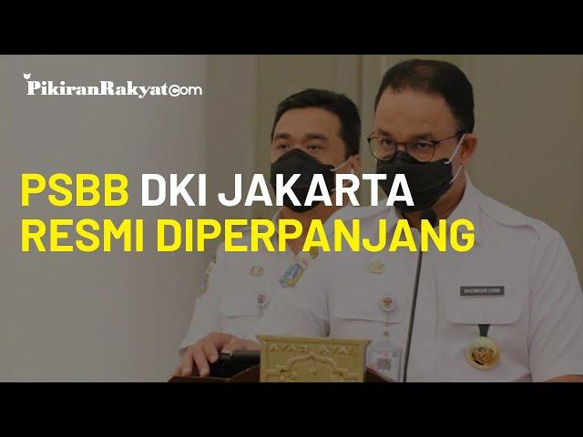 PSBB di DKI Jakarta Resmi Diperpanjang, Berlaku Hingga 11 Oktober 2020