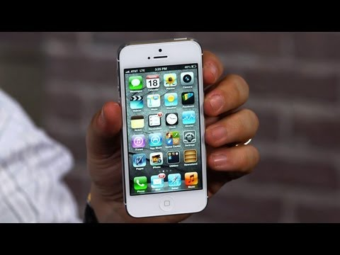 iPhone 5: Video Review from CNET