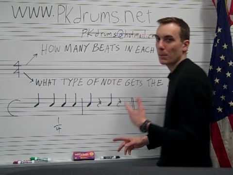 4/4 (four four) Time signature explained