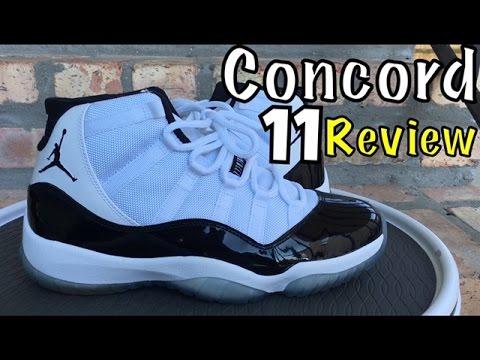 """Air Jordan 11 Retro """"Concord"""" Review"""