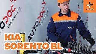 Montaje Amortiguador delanteros KIA SORENTO: vídeo manual
