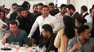 INSIDE Video Salman Khan At Baba Siddiqui Iftar Party 2017