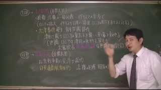 146 条約改正(教科書287)日本史ストーリーノート第14話