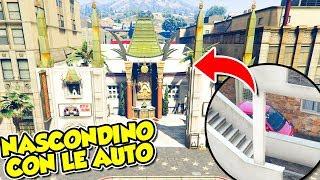 Gta 5 ITA - NASCONDINO con le auto al CINEMA!!