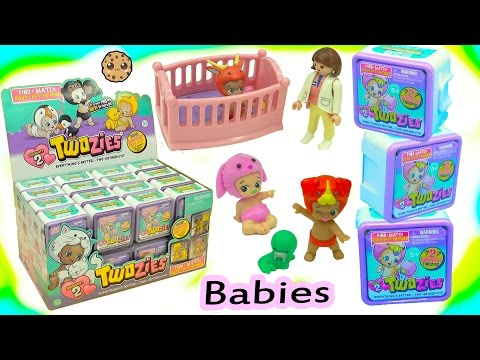 Full Box Of 30 Twozies Season 2 Baby Surprise Blind Bag Boxes Babies Born At Hospital