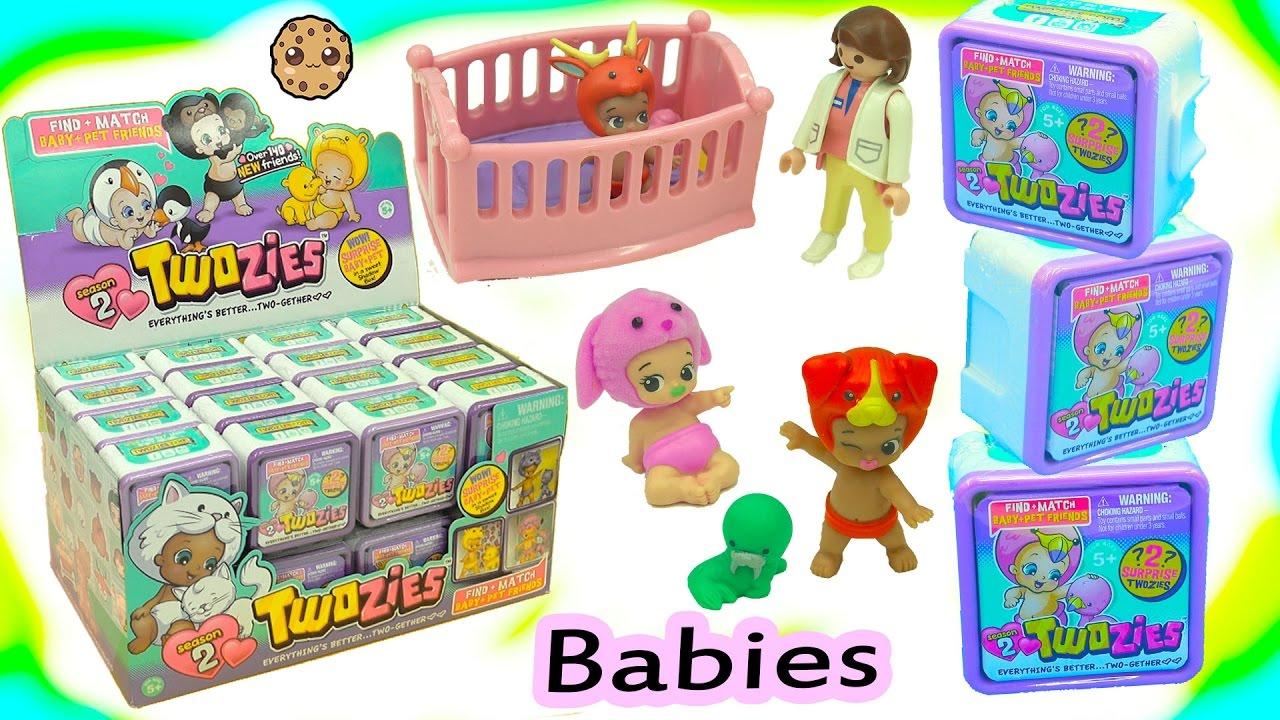 Full Box Of 30 Twozies Season 2 Baby Surprise Blind Bag