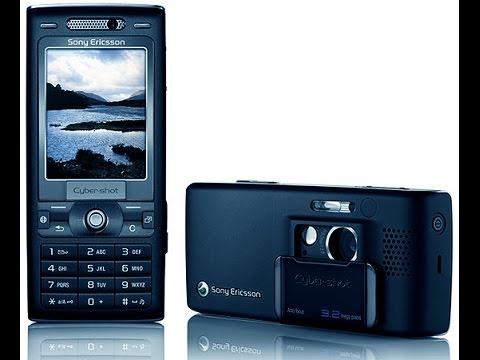 Разборка Sony Ericsson k800