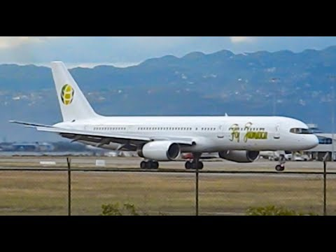 Easter Monday Plane Spotting at Norman Manley Int'l Airport, KIN/MKJP | 02-04-18
