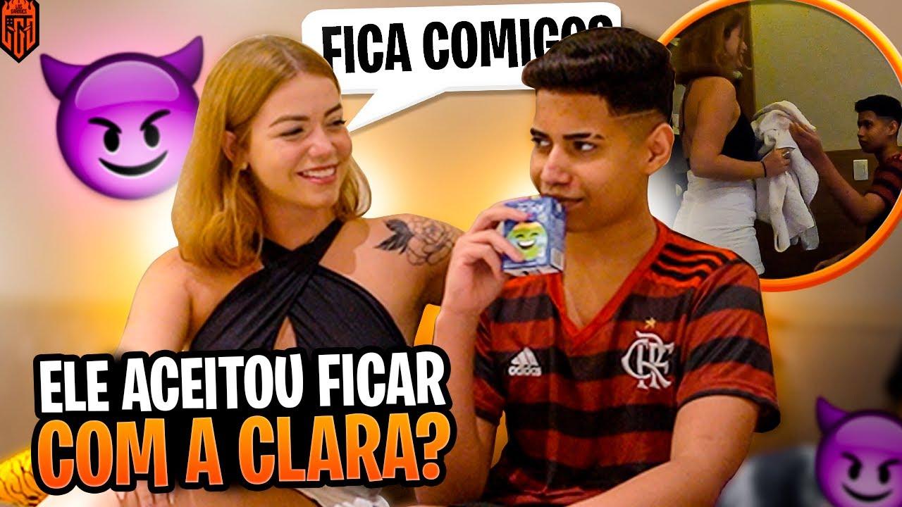 ELE FICOU COM A CLARA?! TROLLAMOS O TREMBALA!