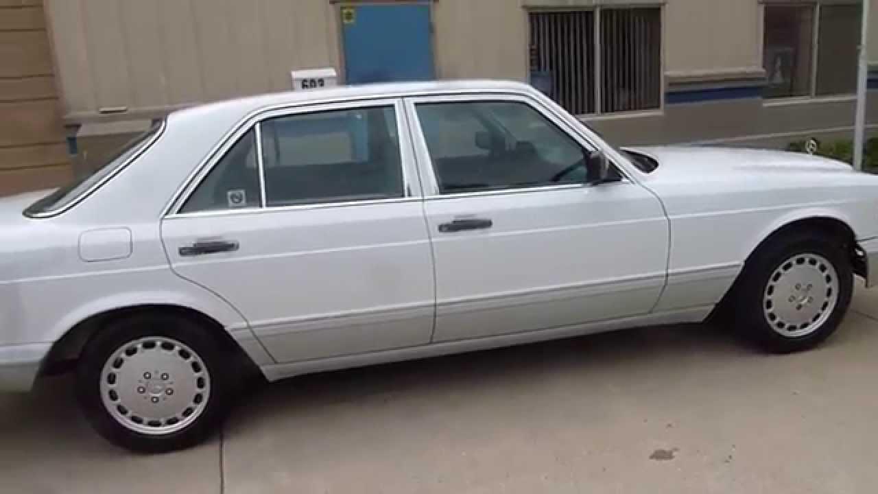 1989 mercedes benz 300se 4dr sedan auto sold 2475 plymouth mi
