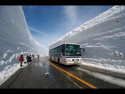 Снегопады, извержение вулкана и лавина в Японии. январь 2018. Что произошло. Что произошло в мире.