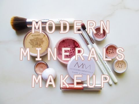 Modern Minerals Makeup Look Featuring Products from the June Beauty Heroes Box! // Vegan Makeup!