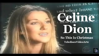 Celine Dion - So This Is Christmas - TelediscoVideoArte