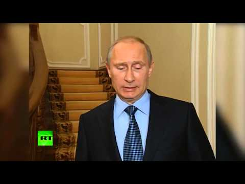 Putin Penyerahan Senjata Kimia Syria akan berfungsi hanya jika US Call henti Serangan
