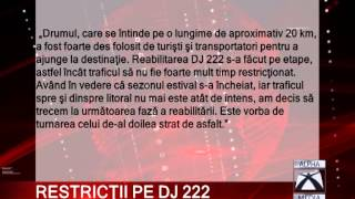 restricţii pe dj 222