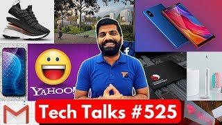 Tech Talks #525 - Mi 8i India, New Gmail, Pixel Wireless Charging, 3D Printed House, Snapdragon 1000