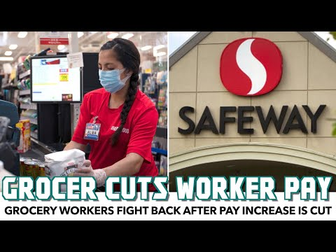 Grocery Workers Fight Back After Pay Increase Is Cut