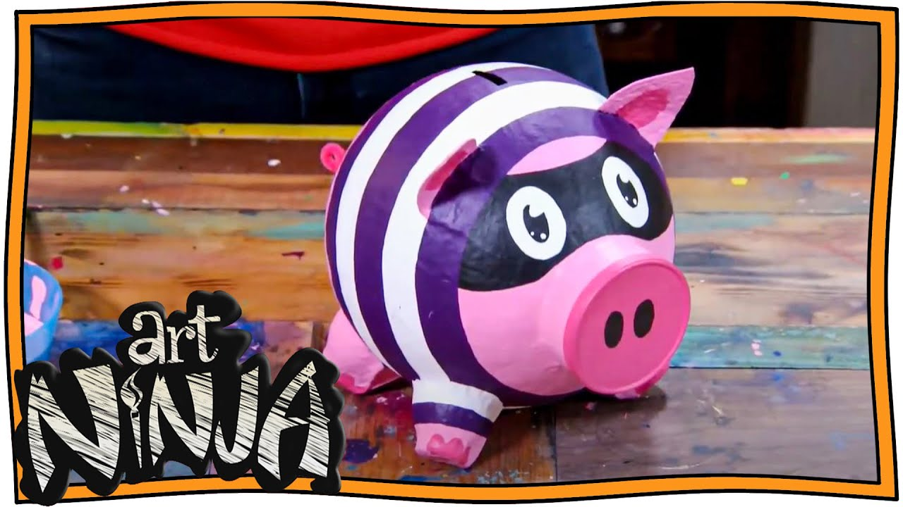 Make your Own Piggy Banks | Art Ninja | Nugget