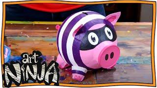 Make your Own Piggy Banks   Art Ninja   Nugget