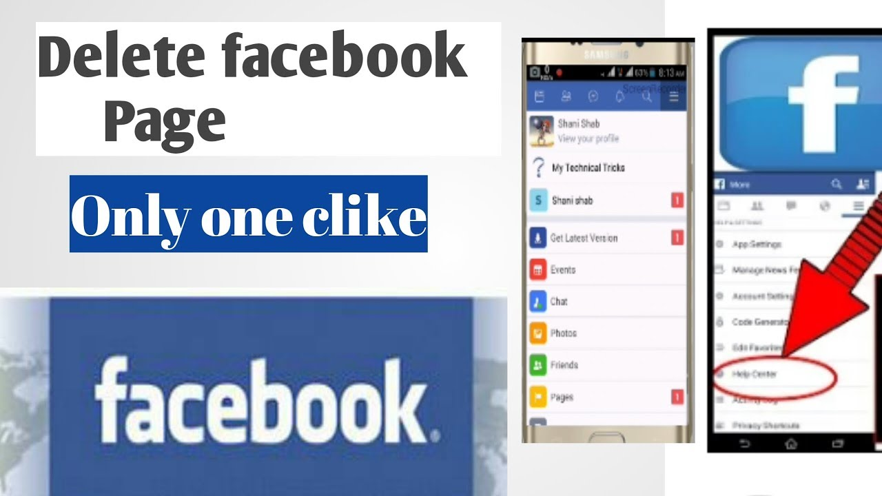 how to permanently delete facebook 2018