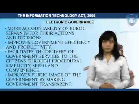 THE INFORMATION TECHNOLOGY ACT, 2000