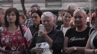 Legenda SOLIDARNOŚCI Senator Borusewicz w Jeleniej Górze