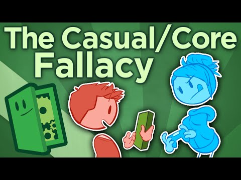 The Casual/Core Fallacy - Designing for Depth - Extra Credits