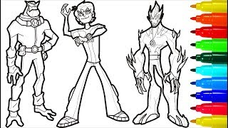 BEN 10 Coloring Pages | Coloring Pages for Kids | Coloring Book