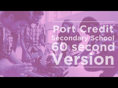 Port Credit Secondary School Promo - 60 second version