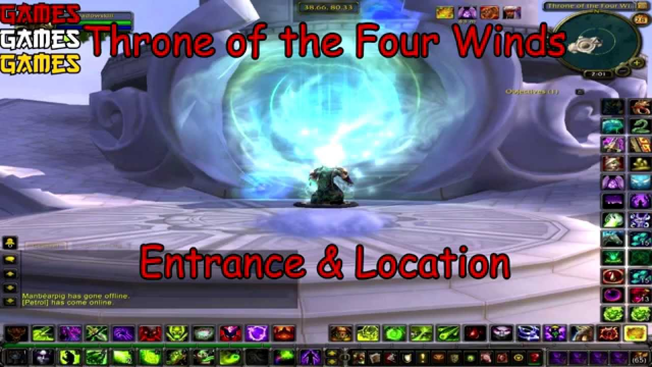 Throne Of The Four Winds Raid Entrance Location By Gamesgamesgames