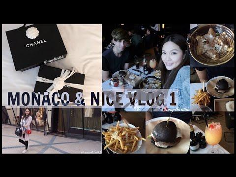 MONACO & NICE VLOG 1♥ | ANGELBIRDBB