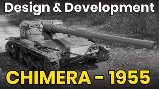 chimera-1955-design-vyvoj