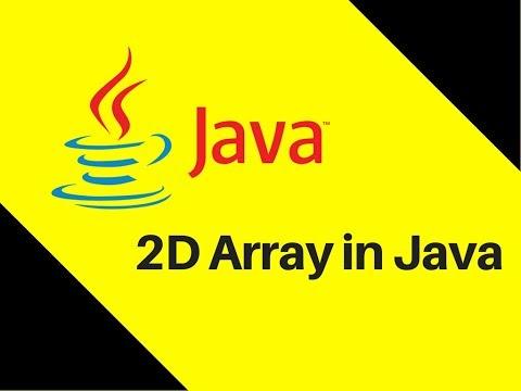 6.9-2d-array-in-java