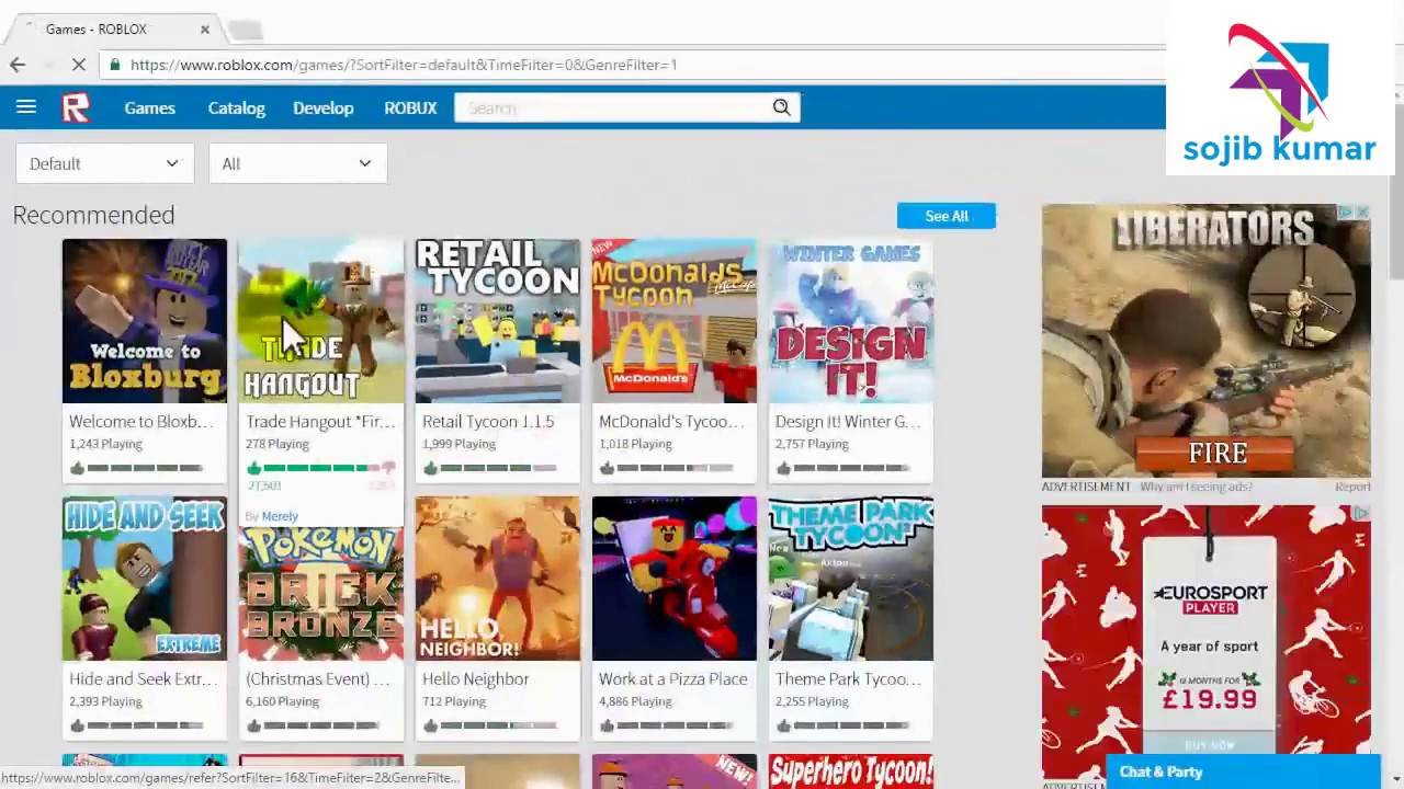 How To Download Roblox On PC FOR FREE 2018 Sign Up ...