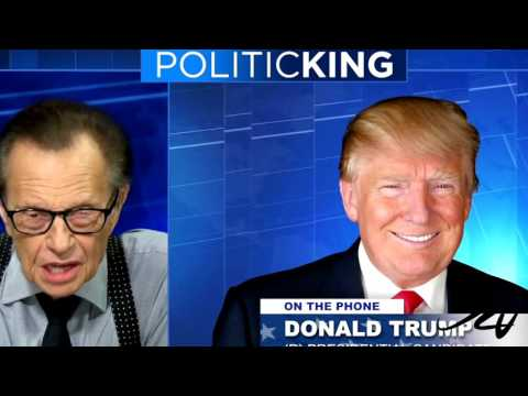 Donald Trump Interviewed by Larry King -  Media calls this Russian Propaganda -  YouTube