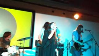 Cults - Never Saw the Point (Live @ The Luminary Center for the Arts, St Louis, MO. 07/30/2010)