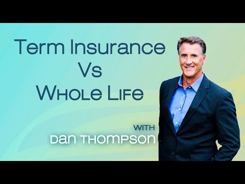 Renting Vs Owning Your Insurance Policy - Term Vs Whole Life Insurance (as an Investment)
