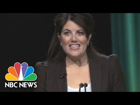 Monica Lewinsky Campaigns Against Cyberbullying   NBC News