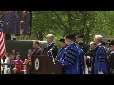 University of Rhode Island commencement 2014