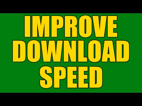 How To Fix Slow Download Speeds / Slow Internet Connection