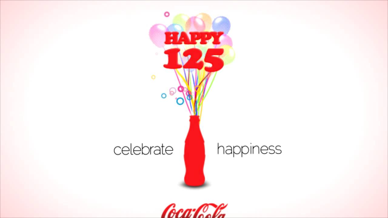 coca cola 125 year anniversary animation youtube. Black Bedroom Furniture Sets. Home Design Ideas