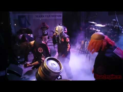 Disasterpieces Slipknot Tribute Band - Eyeless live at Mad Stage Open Air 2014