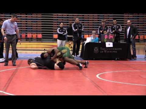 2013 Wesmen Duals: 130 kg Saheel Khan vs. Jacob Phillips