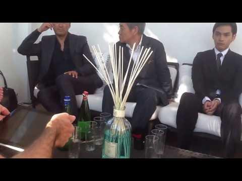 Intervista al cast di Unforgiven- Yurusarezaru mono alla Mostra del Cinema di Venezia 2013