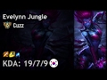Evelynn Jungle vs Graves - Cuzz - KR Challenger Patch 7.3