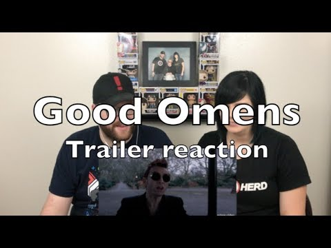 Good Omens – Official Teaser Trailer Reaction